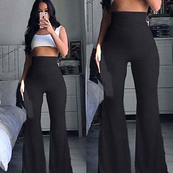 Hippie Boho Bell Bottom Flare Pants