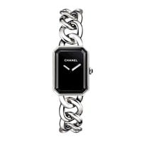 New Chanel Premiere 20mm black dial watch H3250 for Ladies/Women