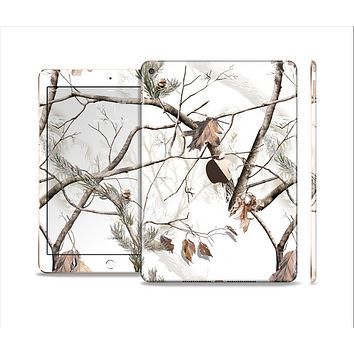 The Real Winter Camouflage Skin Set for the Apple iPad Air 2