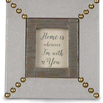 Home is wherever I'm with you Picture Frame