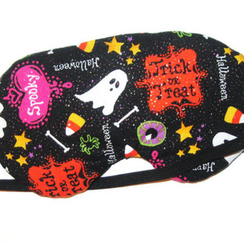 Halloween Sleep Mask -  Comes as Shown - Handmade - Fits Kids to Adults