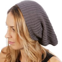 SALE-Dark Grey Basic Beanie