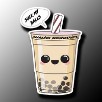 Suck My Balls boba tea