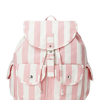 Cool Girl Striped Backpack