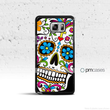 Sugar Skull Case Cover for Samsung Galaxy S3 S4 S5 S6 S7 Edge Plus Active Mini Note 3 4 5 7