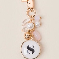 """""""S"""" Initial Bubble Keychain"""