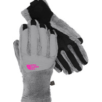 The North Face Denali Thermal ETip Gloves for Women in Mid Grey A6M0-CTD