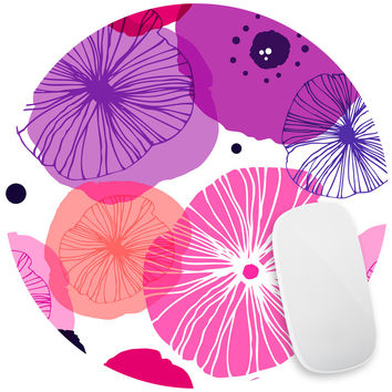 Poppies Mouse Pad Decal
