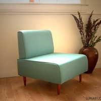 Bokz Lounge chair / slipper chair Eames Era by lunarloungedesign