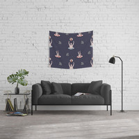 Swimming with Sharks Wall Tapestry by lalainelim