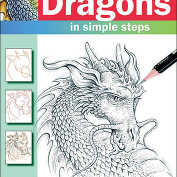 How To Draw Dragons Search Press Book
