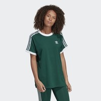 adidas 3-Stripes Tee - Green | adidas US