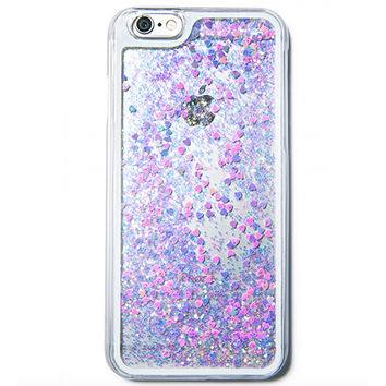 GLITTER HEART HOLOGRAM IPHONE CASE from Velvet Caviar  87d3e713e