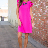 Flutter And Fly Dress, Pink