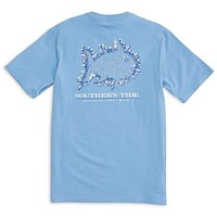 Southern Yacht Week Tee Shirt in Ocean Channel by Southern Tide