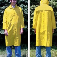 Yellow Raincoat-XX-Large