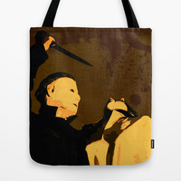Michael Myers * Halloween * Vintage Horror Movie Inspiration Tote Bag by Freak Shop
