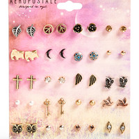 Aeropostale  Assorted Stud Earring 20-Pack