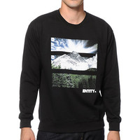 Entity Life Mountain Day Crew Neck Sweatshirt