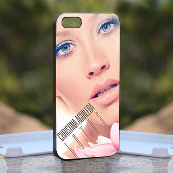 Christina Aguilera Lotus Close Up  - Design available for iPhone 4 / 4S and iPhone 5 Case - black, white and clear cases