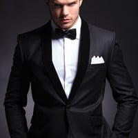 Men's Tuxedos Business Groom Wear Suit