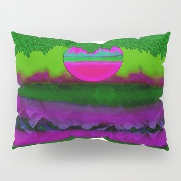 Moony day Pillow Sham by Pepita Selles