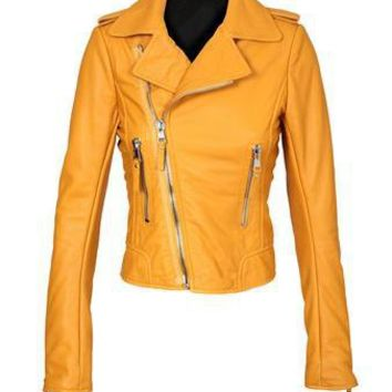 Browns fashion & designer clothes & clothing | BALENCIAGA | Leather biker jacket