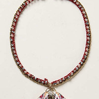 Anthropologie - Fluttered Fleur Pendant Necklace