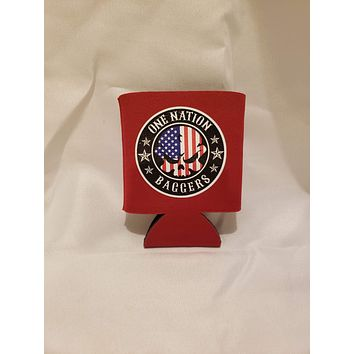 One Nation Baggers Collapsible Koozies