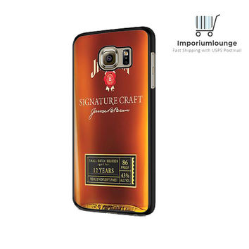 jim beam whiskey For Samsung Galaxy S6| S6 Edge Case
