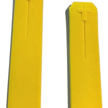 Tissot T-Touch Yellow Rubber 20mm Strap Band for Z252/352 or Z253/353