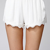 Lucca Couture Crochet Trim Shorts at PacSun.com