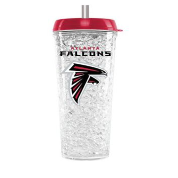 Duckhouse NFL Atlanta Falcons Crystal Freezer Straw Tumbler With Lid