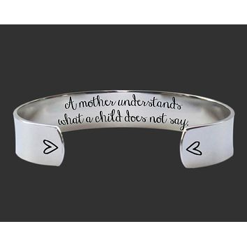 A mother understands Bracelet | Mother Gifts