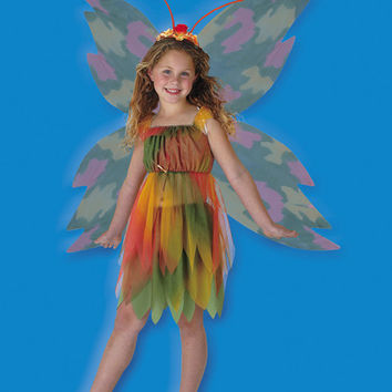 Girl's Costume: Amber Woodland Fairy