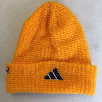 ESBONC. BRAND NEW ADIDAS YELLOWISH ORANGE INTER KNIT HAT SHIPPING