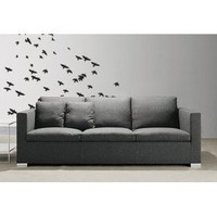 "Stickerbrand© Animals Vinyl Wall Art Flying Birds Wall Decal Sticker - Multiple Colors Available, 83"" x 82"". Easy to Apply & Removable. Includes FREE Application Squeegee"