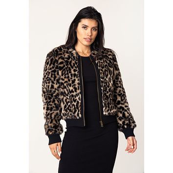 Milena Faux Fur Jacket