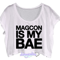 Magcon Is My Bae Crop Top