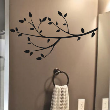 Branch Vinyl Wall Decal- Wall Art Branch #2 Tree Branch