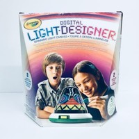 2012 DIGITAL LIGHT DESIGNER BY CRAYOLA SPINNING LIGHT CANVAS