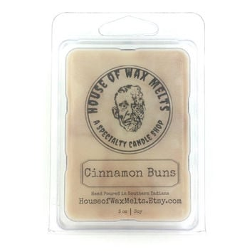 Cinnamon Buns Scented Wax Melts - Soy - 3oz. - Candle Melts