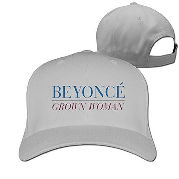 Beyonce Grown Woman Baseball Hats Hat Men Unisex White Snapback Lady