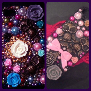 custom phone cases READ DESCRIPTION by PixiesParlour on Etsy