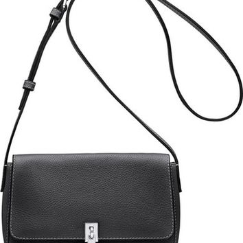 Elizabeth and James Micro Cynnie Leather Crossbody Bag | Nordstrom