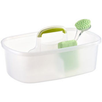 The Container Store > Lime Rectangular Cleaning Caddy