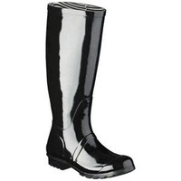 Women's Classic Knee High Rain Boot - Black