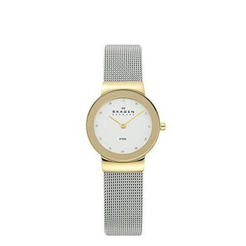Women's Two-Tone Mesh Watch Skagen