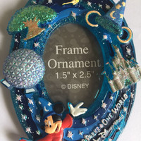 Disney Parks Walt Disney World Frame Ornament New with Tag