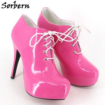 Sorbern Sexy 15Cm Extrem High Heeled Pumps For Women Stiletto Heels Formal Women Shoes Italy Evening Shoes Elegant Woman Shoes